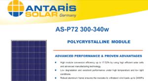 pin năng lượng mặt trời Đức